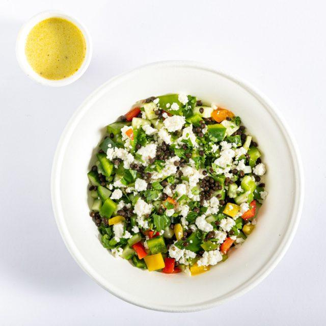 Φακοσαλάτα με Λαχανικά